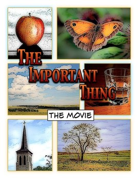 The Important Thing Comic Life Movie ProjectPackage© - Computer Lesson