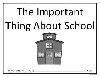 The Important Thing: School