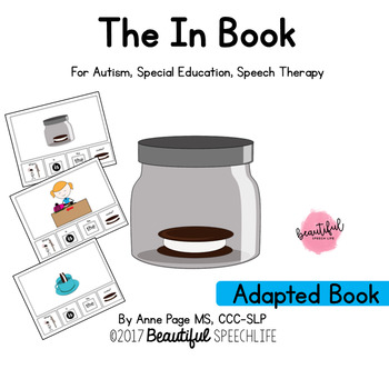 The In Book Adapted for Autism, Special Education and Speech