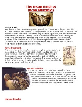 The Incan Empire: Incan Mummies