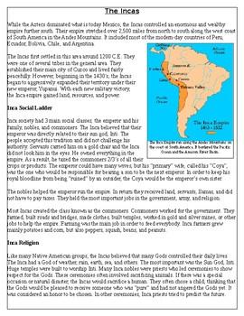 Native Americans: The Inca