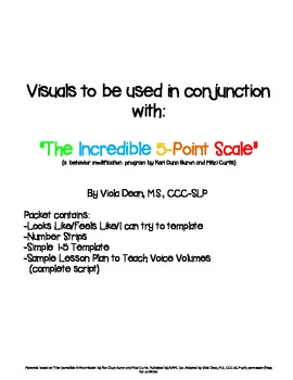 The Incredible 5-Point-Scale Visuals & Sample Lesson Plan