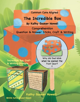 The Incredible Box (Comprehension Q & A Sticks,Craft & Writing)