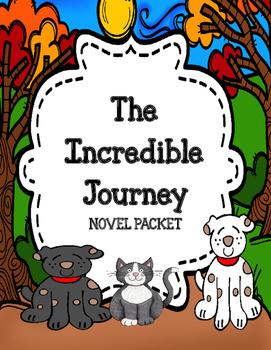 The Incredible Journey Novel Study Unit