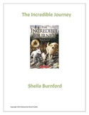 The Incredible Journey Novel Study Teaching Guide