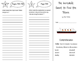 The Incredible Quest to Find the Titanic Trifold - Storytown 6th Gr Unit 6 Wk 2