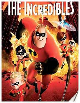 The Incredibles - Movie Math Questions