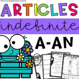 The Indefinite Articles a/an - Print and Go