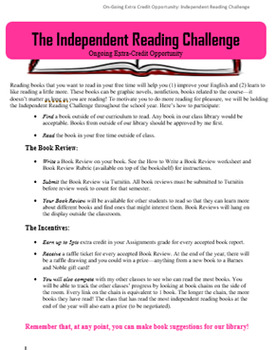The Independent Reading Challenge