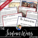 The Indian Wars Activity with Primary Sources for Texas History 7th Grade