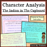 The Indian in The Cupboard Novel Study Character & Setting PROMETHEAN Board