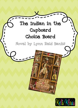 The Indian in the Cupboard Choice Board