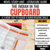 The Indian in the Cupboard Foldable Novel Study Unit