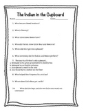 The Indian in the Cupboard Questions