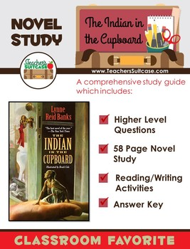 The Indian in the Cupboard {Questions & Reading/Writing Activities}
