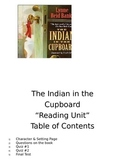 The Indian in the Cupboard Reading Unit
