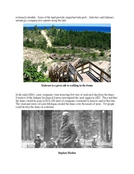 The Indiana Dunes State Park