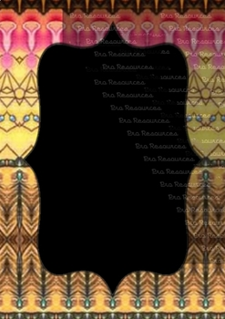 The Indonesia Frame Of Batik dccclv : Ilustration