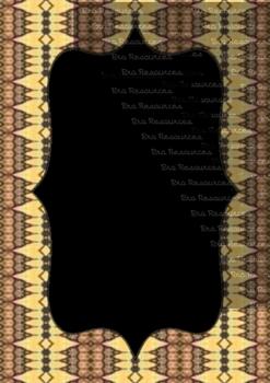 The Indonesia Frame Of Batik dccclvi : Ilustration