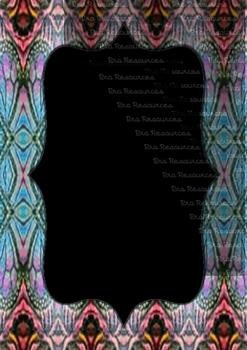 The Indonesia Frame Of Batik dccclx : Ilustration