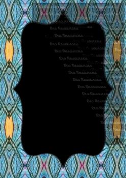 The Indonesia Frame Of Batik dccclxi : Ilustration