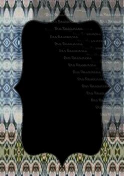 The Indonesia Frame Of Batik dccclxv : Ilustration