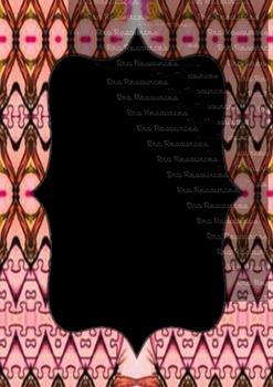 The Indonesia Frame Of Batik dccclxviii : Ilustration