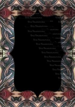 The Indonesia Frame Of Batik dccclxxx : Ilustration