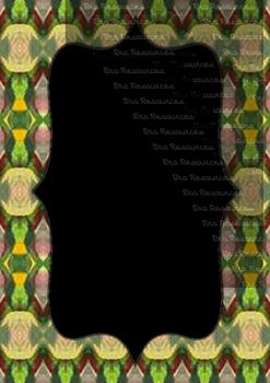 The Indonesia Frame Of Batik dccxlii : Ilustration