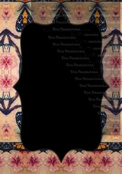 The Indonesia Frame Of Batik dccxlix : Ilustration
