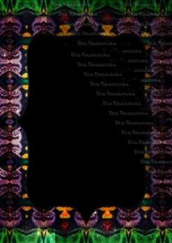 The Indonesia Frame Of Batik dccxlvi : Ilustration