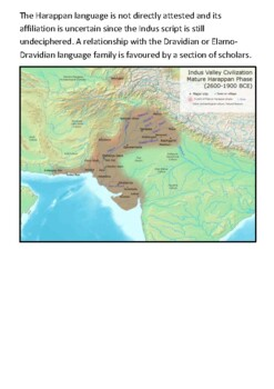 The Indus Valley Civilization Handout