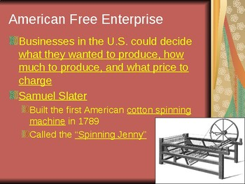 The Nation Grows - The Industrial Revolution PowerPoint
