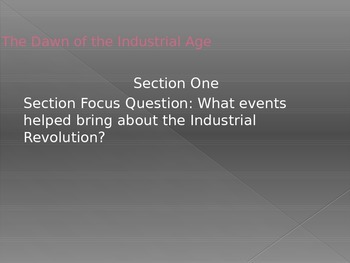 The Industrial Revolution Begins PPT
