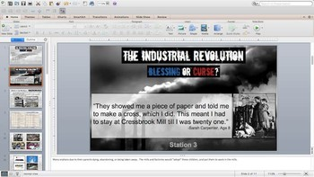 The Industrial Revolution: Blessing or Curse?