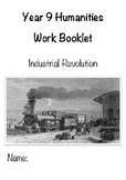 The Industrial Revolution Booklet