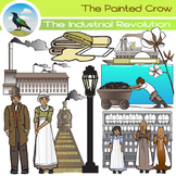 The Industrial Revolution Clip Art Set