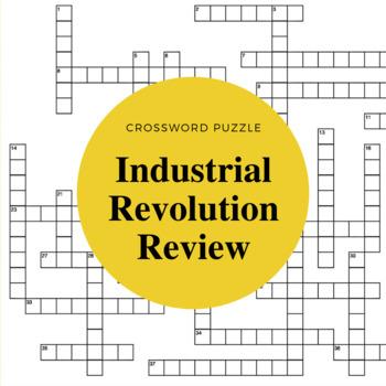 Industrial Revolution Review: Crossword Puzzle