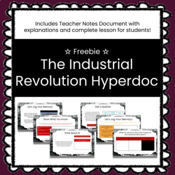 The Industrial Revolution Customizable Google Slides HyperDoc