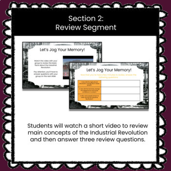 The Industrial Revolution Customizable Google Slides HyperDoc