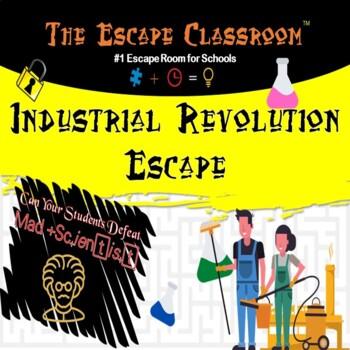 The Industrial Revolution Escape Room | The Escape Classroom
