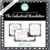 The Industrial Revolution Customizable Escape Room / Break