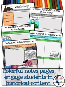 The Industrial Revolution Interactive Notebook for Google Drive