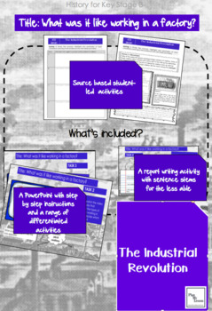 The Industrial Revolution. L5 'What was it like working in a factory?'