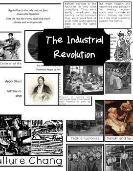 The Industrial Revolution Lap Book