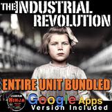 Industrial Revolution Unit - PPTs, Worksheets, Lesson Plans+Test