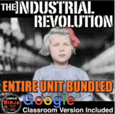 Industrial Revolution Unit - PPTs, Worksheets, Lesson Plans+Test