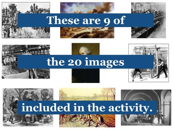 The Industrial Revolution Primary Source Image Activity