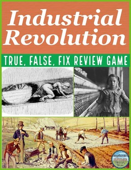 The Industrial Revolution Review Game