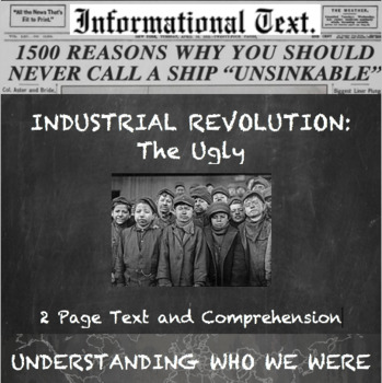 The Industrial Revolution--The Ugly